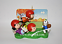 Hallmark 2005 Touchdown Snoopy Peanut Gang Ornament QXI6285 No Box