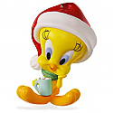 Hallmark 2016 Hot Cocoa Christmas Tweety Looney Tunes Ornament QXI3021