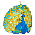 Hallmark 2016 Pretty Peacock Ornament QGO1484
