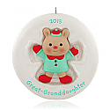 Hallmark 2015 Great Granddaughter Ornament QGO1279