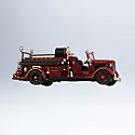 Hallmark 2012 Ford 1936 Fire Engine Ornament 10th in the Fire Brigade series QX8204