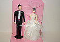 Hallmark 1998 Barbie And Ken Wedding Day Set of 2 Ornament QXI6815 Damaged Box