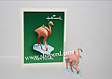 Hallmark 2003 Lawn Patrol Miniature Ornament Flamingo QXM4979 Damaged Box