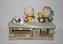 Hallmark This Could Be a Sweet Day Peanut Gang Brick Wall Perpetual Calendar PAJ1183