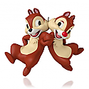 Hallmark 2015 Limited Quantities Chip And Dale Disney Ornament QXE3727