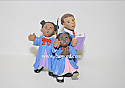 Hallmark 1999 Praise The Day Ornament African American Choir Children QX6799