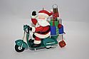 Hallmark 2007 Santas Scooter Magic Ornament QXG7569 Damaged Box