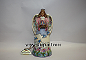 Jim Shore Love And Happiness Spring Angel with Glass Globe Figurine 4023101
