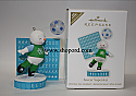 Hallmark 2011 Soccer Superstar Ornament Damaged Box  QXG4329