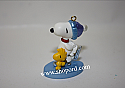 Hallmark 2001 Peanuts Winter Fun With Snoopy Miniature Ornament 4th In The Series QXM5262