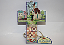 Jim Shore Town Church Cross Hanging Ornament 4008103