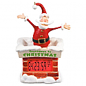 Hallmark 2016 Countdown To Christmas Santa Clock QGO1424