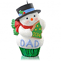 Hallmark 2014 Dad Cupcake Ornament QGO1093
