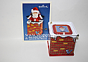 Hallmark 2004 Pop Goes The Santa Ornament 2nd in the Jack in the Box Memories Series QX8411