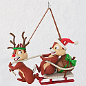 Hallmark 2018 Keepsake Dashing Through the Snow Ornament QXD6223