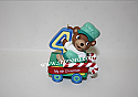 Hallmark 2002 Childs Fourth Christmas Childs Age Collection Ornament QX8343 Damaged Box