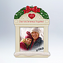 Hallmark 2012 Our First Christmas Together Ornament photo holder QXG4524