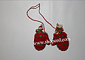 Hallmark 2003 Mouse Warming Gift set of 3 Miniature Ornament QXM4999