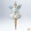 Hallmark 2012 Snowflake Fairy Ornament *Needs Magic Cord (sold separately) QXG4044