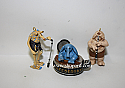 Hallmark 1999 Max Rebo Band Set of 3 Miniature Ornament Star Wars QXI4597