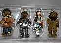 Boyds The Wonderful Wizard Of Oz Ornament Collection set of 4 #292997