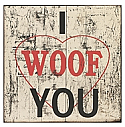 Dogs Wall DecorSign 3
