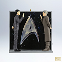 Hallmark 2012 An Extraordinary Meeting Ornament Star Trek QXI2054 Box Damaged torn
