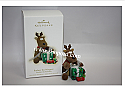 Hallmark 2009 Rodney the Wrapper Ornament Rodney the Reindeer QK4005