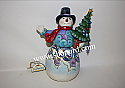 Jim Shore Season To Smile Snowman Holding Tree Figurine 4053713