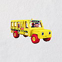 Hallmark 2018 Keepsake School Bus Miniature, Ornament QXM8136