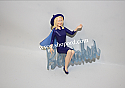 Hallmark 2001 Samantha Sam Stephens Bewitched Ornament QXI6892 Damaged Box