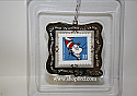 Hallmark 1999 The Cat In The Hat Stamp Ornament Dr Seuss Celebrate The Century Collection QXI8579 Damaged Box