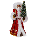 Hallmark 2017 Keepsake African American Father Christmas Ornament QSM7815