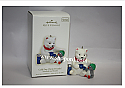 Hallmark 2008 Cold Day Warm Friends Ornament 8th in the Snowball and Tuxedo series QX7191