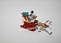 Hallmark 2001 Dashing Through The Snow Miniature Ornament QXM5335