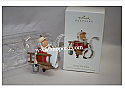 Hallmark 2008 Honey Do Santa Ornament QXG2221