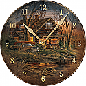 Terry Redlin Wall Clock- Shoreline Neighbors