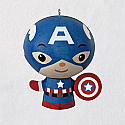 Hallmark 2018 Keepsake Captain America Wood Ornament QXI3406