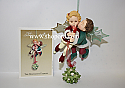 Hallmark 2003 The Mistletot Faeries Keepsake Ornament Club KOC QXC3001 Damaged Box