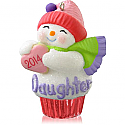 Hallmark 2014 Daughter Cupcake Ornament QGO1076