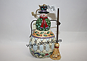 Jim Shore Snowman with Broom Hanging Ornament 4023467