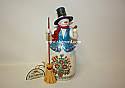 Jim Shore Get Swept Away This Winter Snowman With Pipe Winter Wonderland Figurine 4047659