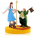 Hallmark 2015 The Wizard Of Oz Ding Dong The Witch Is Dead Ornament Dorothy Toto And MUNCHKINS QXI2077