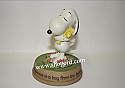 Hallmark Peanuts Snoopy and Woodstock Happiness Is A Hug From The Heart Figurine PAJ1124