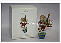 Hallmark 2008 Magic Man Ornament A Santa Claus Christmas QP1624 Damaged Box