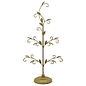 Hallmark 2016 Gold Miniature Keepsake Ornament Tree QXM1121