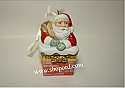 Hallmark 2001 Santa's Sweet Surprise Ornament QX8275