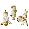 Hallmark 2016 Little Days Of Christmas Days 10-12 Continuity Miniature Ornament Set QRP5941