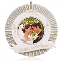 Hallmark 2015 Our Wedding Photo Holder Ornament QHX1107