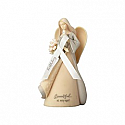 Foundations by Enesco Birthday Angel Figurine 4058701
